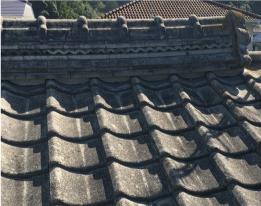 セメント瓦(厚形スレート)・コンクリート瓦写真