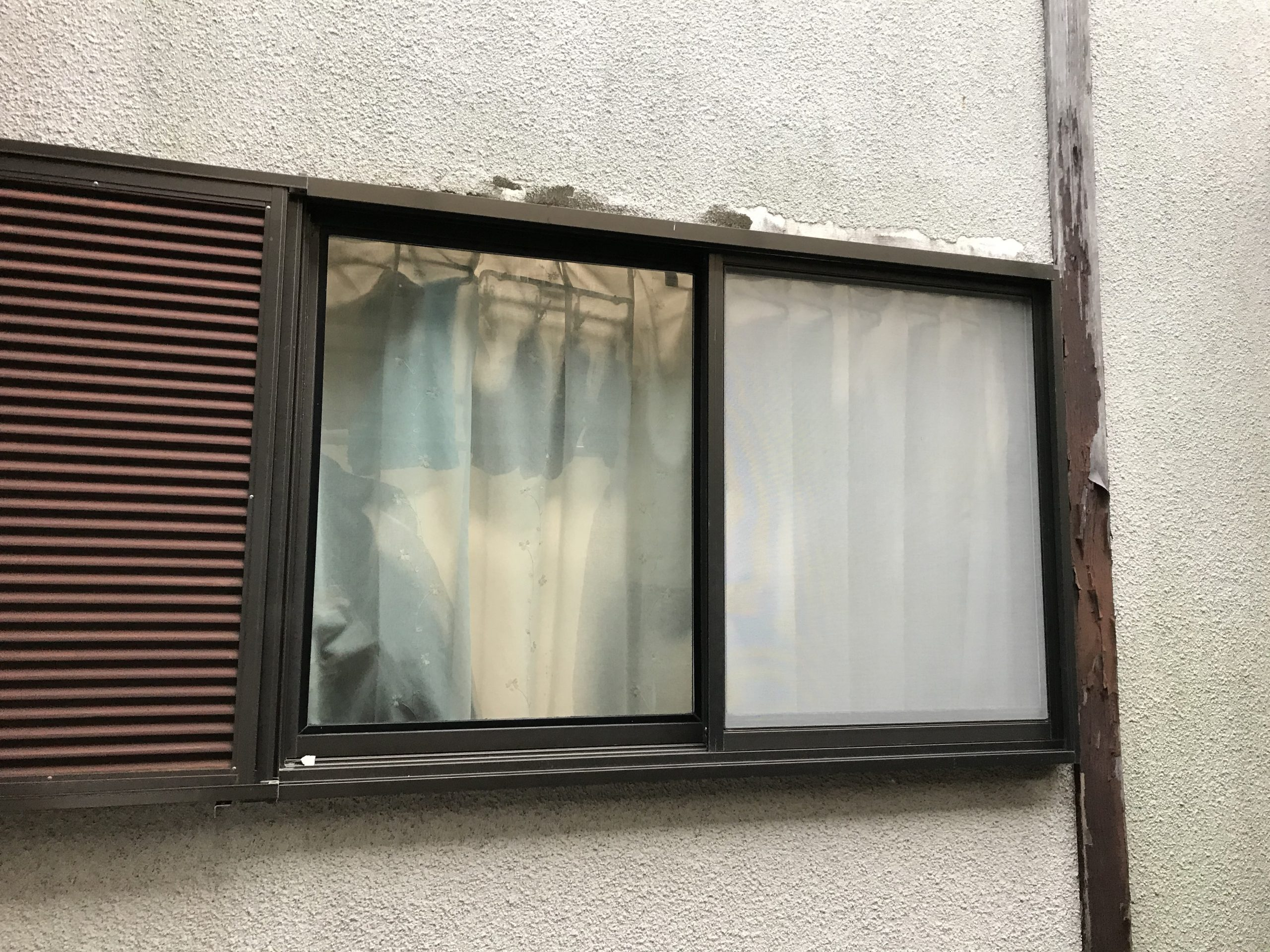 モルタル外壁劣化・剥がれ