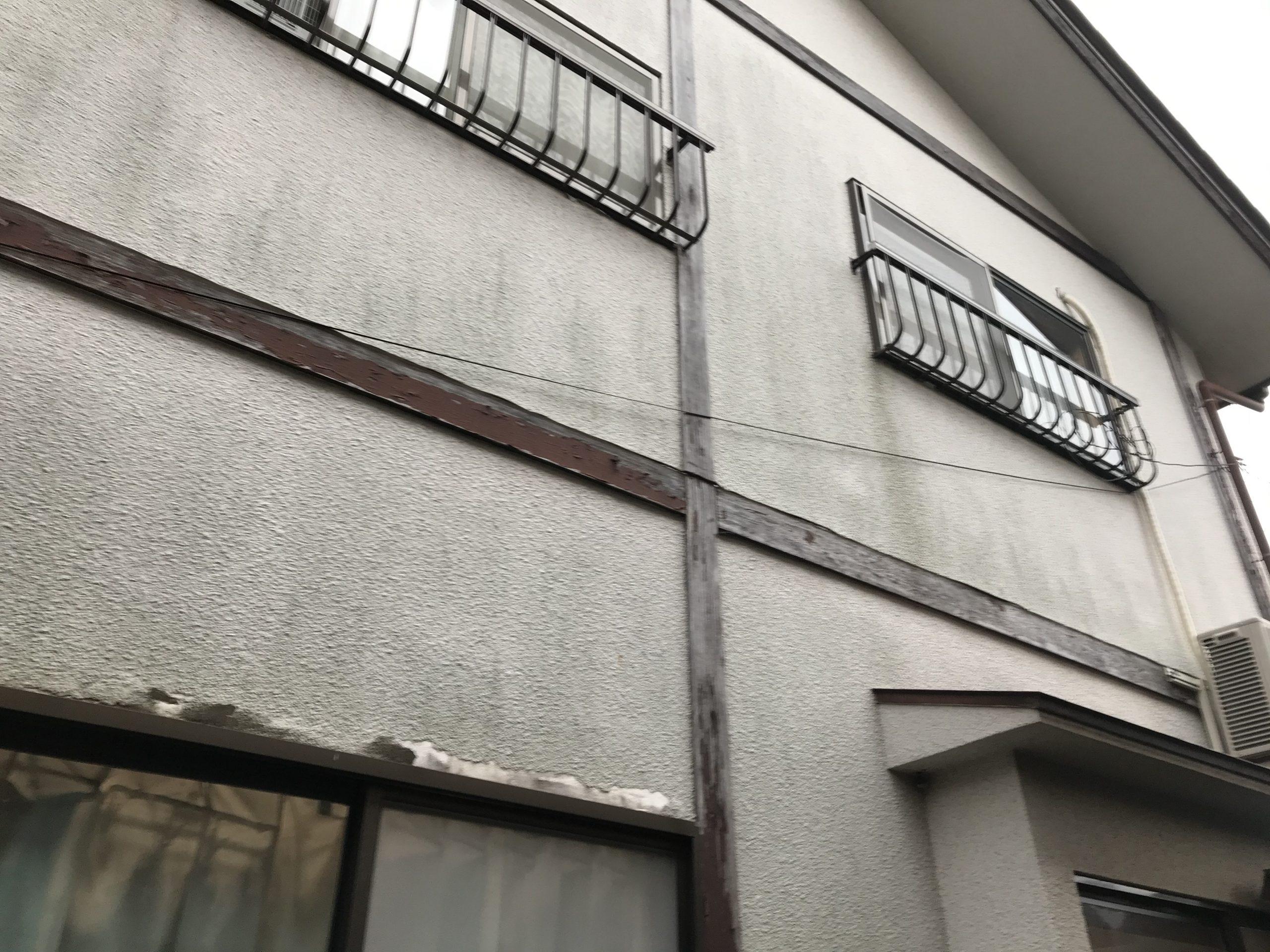 外壁劣化全体