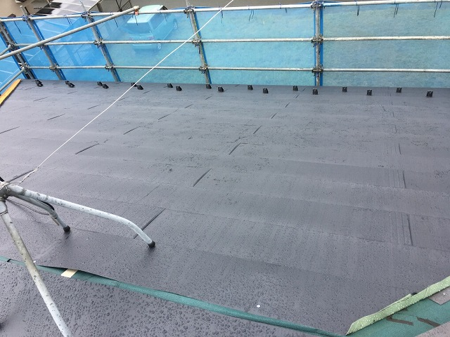板金屋根葺き写真