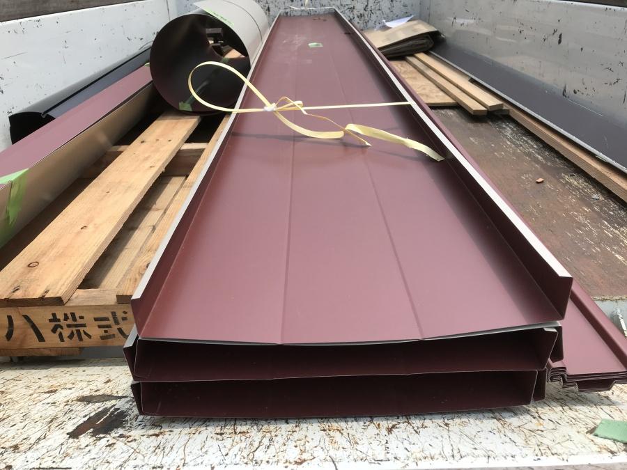 立平葺きGL鋼板材