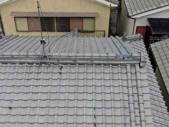 高屋根部分