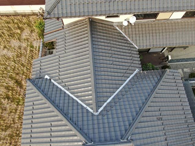 別棟屋根写真