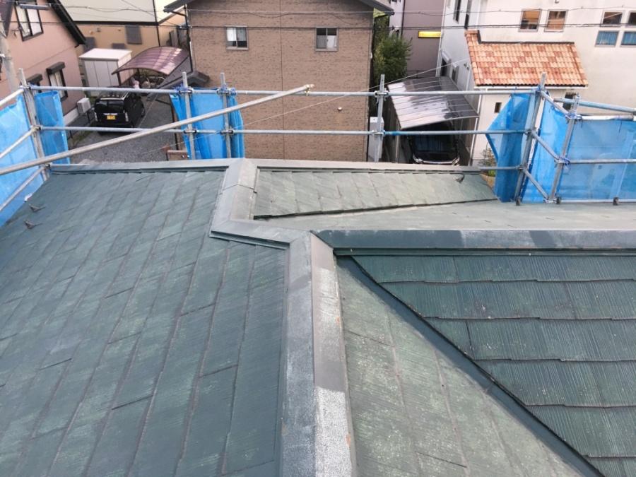 着工前の屋根