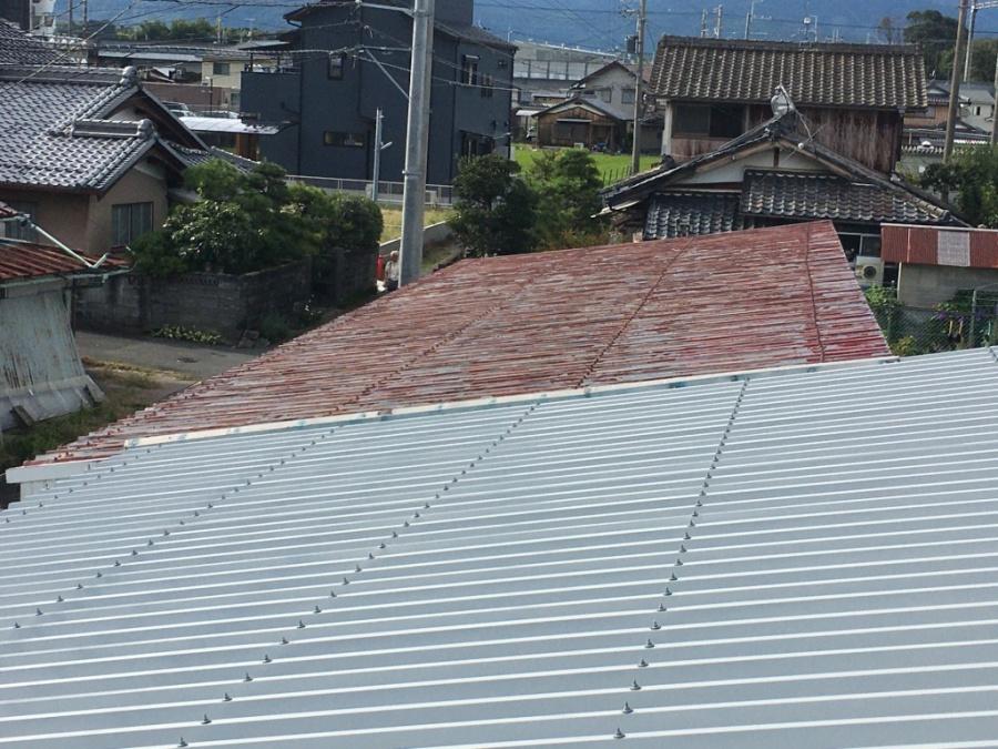 屋根確認アップ
