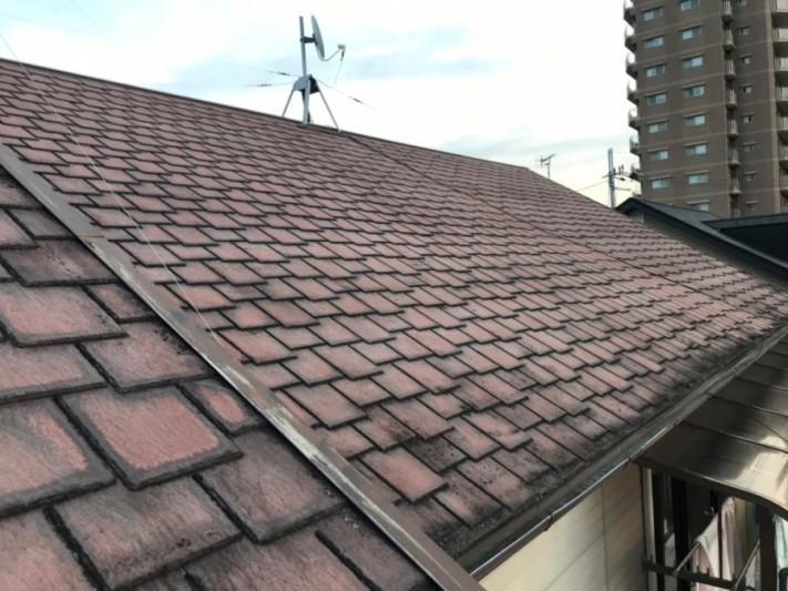 カラーベスト屋根確認
