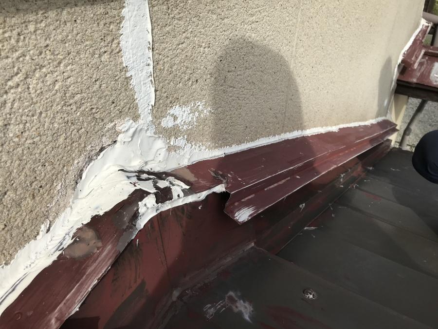 外壁と屋根の仕舞