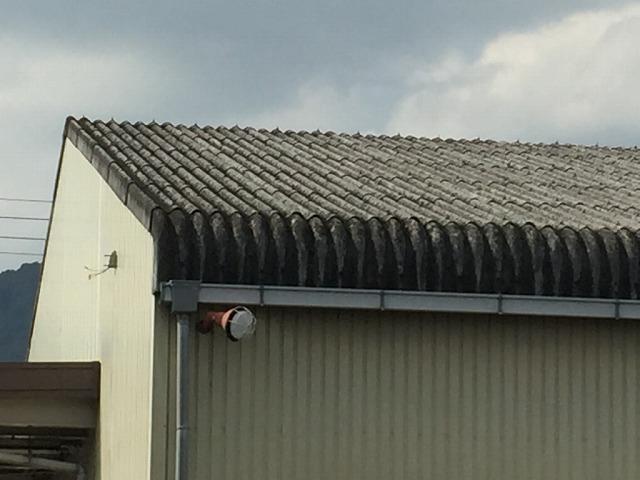 スレート屋根確認