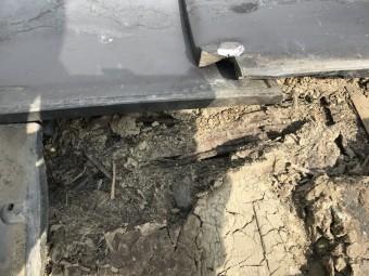葺き土劣化