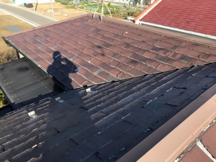パミール葺き屋根の確認