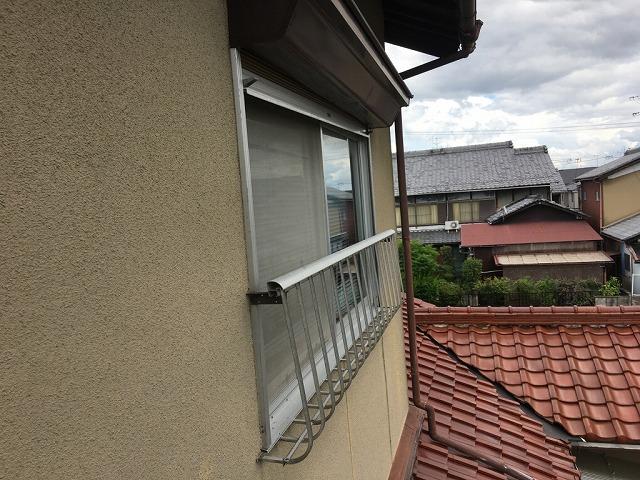 窓サッシ確認