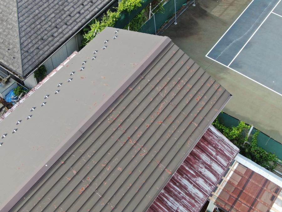 サビた屋根