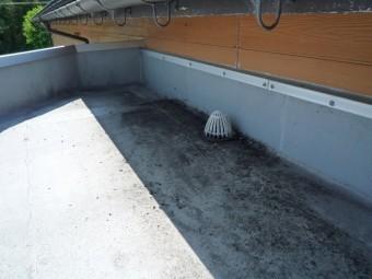 清掃後の屋上