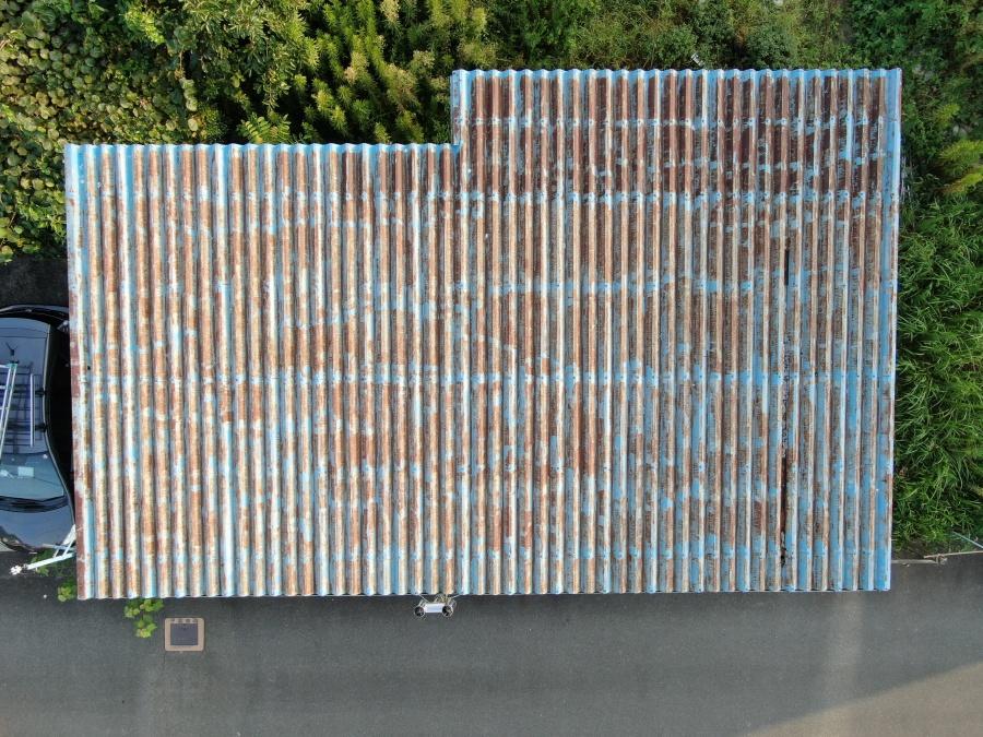 金属屋根錆劣化